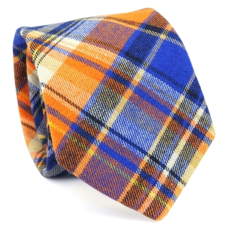Узкий галстук #152 (оранжевый)