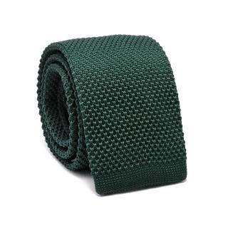 Вязаный галстук #156 (зеленый)