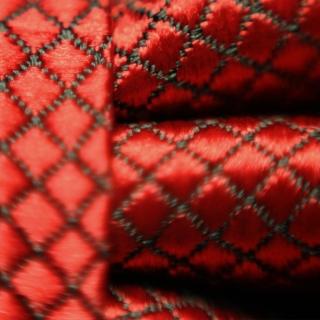Фактурная мужская бабочка бордовая