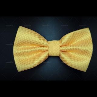 Галстук бабочка с фактурной тканью