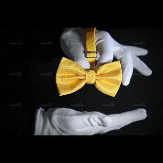 Купить мужскую бабочку желтого цвета