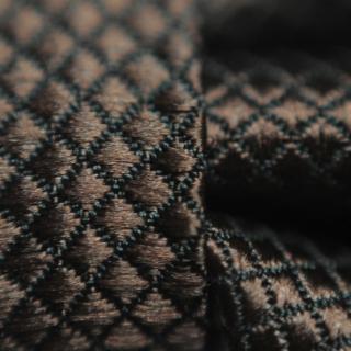 Коричневый галстук-бабочка на застежке
