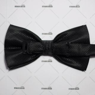 Стильная черная галстук-бабочка
