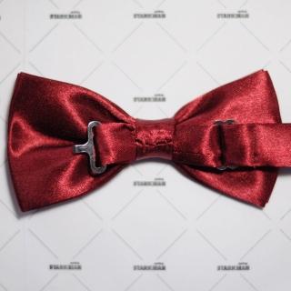 Купить бордовую галстук-бабочку