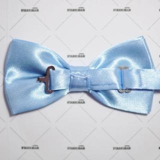 Модная голубая галстук-бабочка