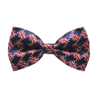 Купить галстук-бабочку с британским флагом