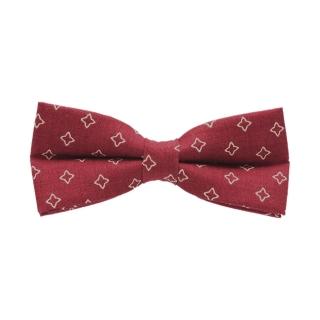 Красная дизайнерская галстук-бабочка