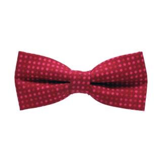 Малиновая галстук-бабочка