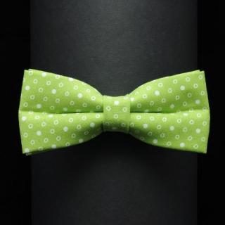 Купить дизайнерскую галстук-бабочку в горошек
