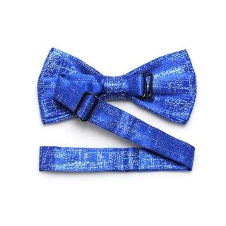 Праздничная синяя галстук бабочка