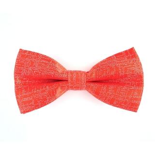 Красная галстук-бабочка с блестками