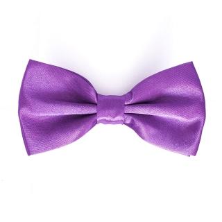Фиолетовая однотонная мужская бабочка