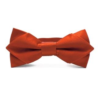 Красная шелковая галстук-бабочка