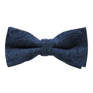 Купить синюю джинсовую галстук-бабочку