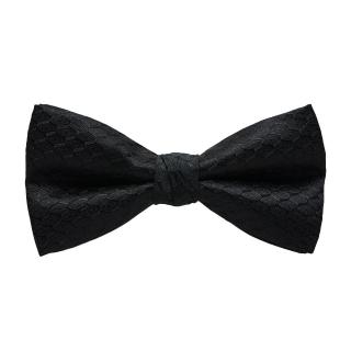 Классическая черная галстук-бабочка