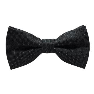 Купить черную блестящую галстук-бабочку