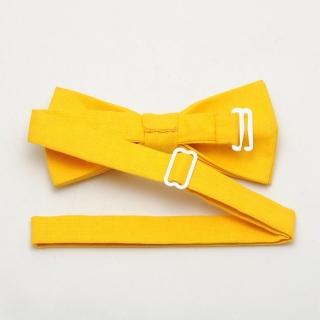 Купить однотонную желтую бабочку