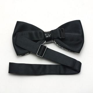 Узорчатая эстрадная галстук-бабочка