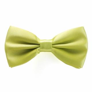 Галстук-бабочка #198 (желто-зеленая)