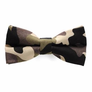 Купить галстук бабочку камуфляжную