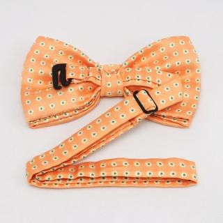 Бабочка для мужчин оранжевого цвета