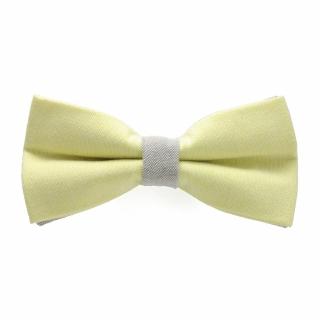 Желто-серая галстук бабочка