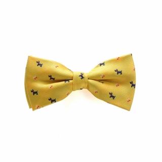 Детская галстук-бабочка с собачками