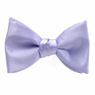 Бледно синяя галстук бабочка саиовяз