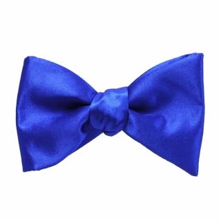 Купить синюю галстук бабочку самовяз