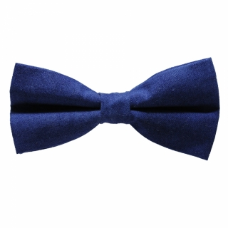 Однотонная синяя бабочка хендмейд