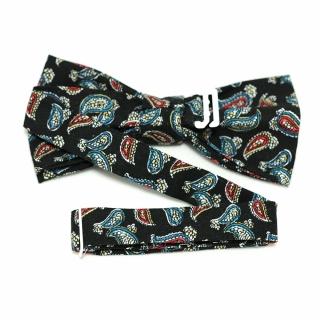 Огуречная галстук бабочка ручной работы