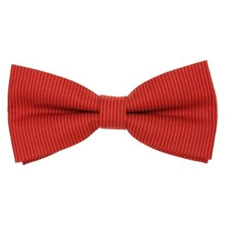Красная галстук-бабочка ручной работы