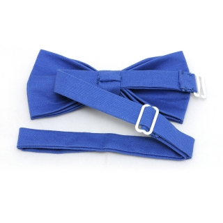 Купить синюю галстук-бабочку из хлопка