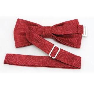 Купить малиновую галстук-бабочку ручной работы