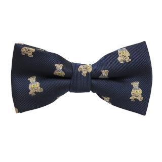 Купить галстук бабочку с мишками