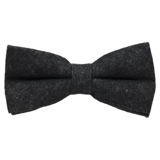 Черная шерстяная галстук-бабочка