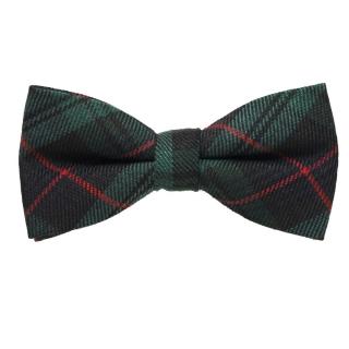 Зеленая шотландская галстук бабочка