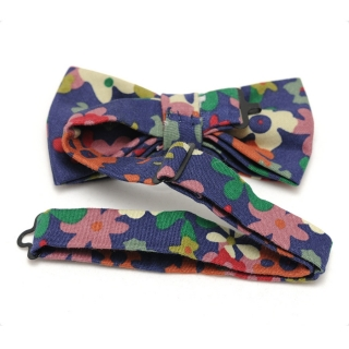 Цветочная галстук-бабочка в милитари стиле