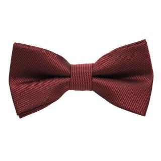 Бордовая перламутровая галстук бабочка