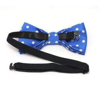 Купить детскую бабочку галстук в горошек