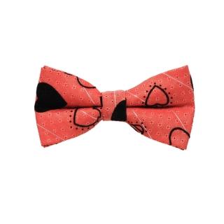 Коралловая бабочка галстук для детей