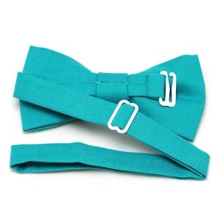 Купить бирюзовую галстук бабочку handmade