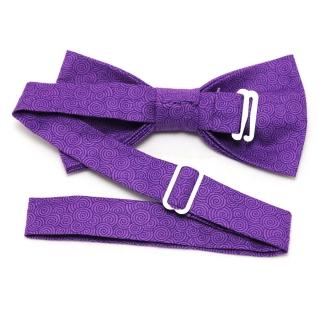 Купить бабочку ручной работы с фиолетовым узором
