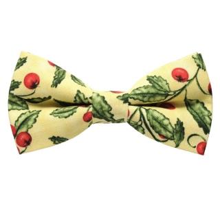 Купить помидорный галстук бабочку ручной работы