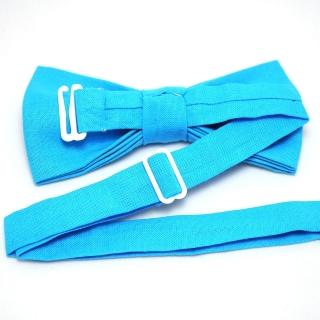 Купить бабочку ручной работы голубого цвета