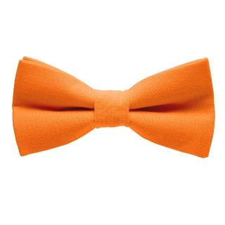 Оранжевая дизайнерская галстук-бабочка