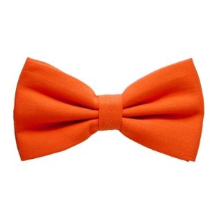Галстук-бабочка #350 (оранжевая)