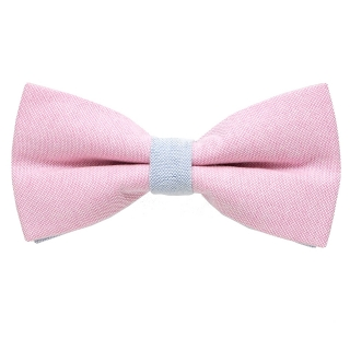 Галстук-бабочка #355 (розово-голубая)