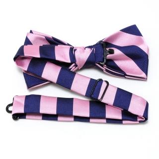 Купить полосатую розово-синюю бабочку