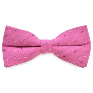 Галстук-бабочка #415 (розовая)